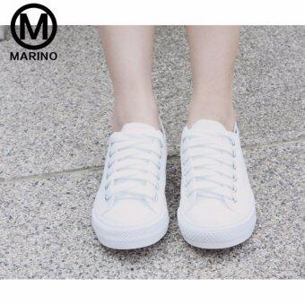 Marino รองเท้านักเรียน รองเท้าผ้าใบนักเรียน รองเท้าผ้าใบผู้หญิง รุ่น A007 - สีขาว (image 2)