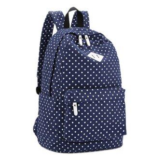 Marino กระเป๋า กระเป๋าสะพาย กระเป๋าเป้สะพายหลัง No.2010 - Blue