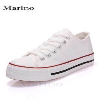 Marino รองเท้าผ้าใบผู้ชาย No.A002 - สีขาว (image 0)