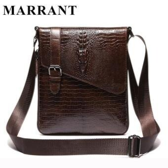MARRANT Genuine Leather Men Bag Fashion Male Small Briefcase Men's Messenger Bags Man Casual Crossbody Shoulder Handbag 8239 - intl