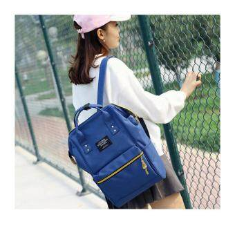 Marverlou กระเป๋า กระเป๋าเป้ กระเป๋าสะพายหลังสีกรม Woman Backpack No.2017 - D.Blue - 4