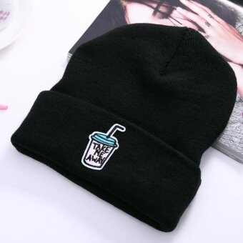 Men Women Beanie Knit Ski Cap Hip-Hop Winter Warm Unisex Hat(Coffee) - intl
