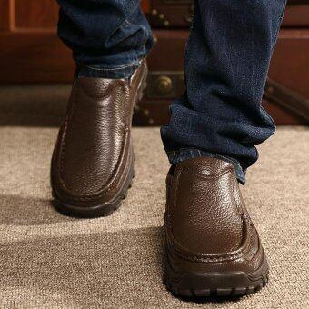 Men's fashion leisure British Genuine Leather shoes - intl - 4