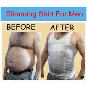 Mens Slimming Body Slim N Lift Shaper เสื้อเก็บพุงลดรอบเอว โฆษณา TV - 2