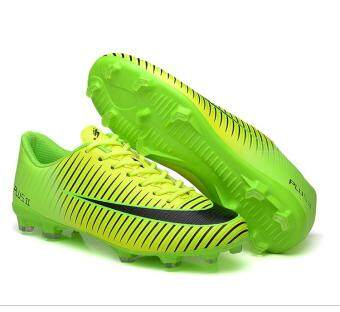 Harga Might&Sight Men's Outdoor Recreation Football Boots Indoor Soccer Boys Shoes ���Green��� - intl
