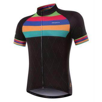 Mitisports Men's Cycling Jersey Dry Fit Cyclingwear