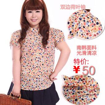 MM เกาหลีพิเศษสุดแขนสั้นเสื้อชีฟอง (6210 สี)