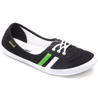 ขาย MOSSONO รองเท้าผ้าใบ รุ่น S043 (สีดำ)