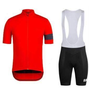 ซื้อ/ขาย เสื้อจักรยาน / กางเกงเอี๊ยมปั่นจักรยาน Rapha (สีแดง)