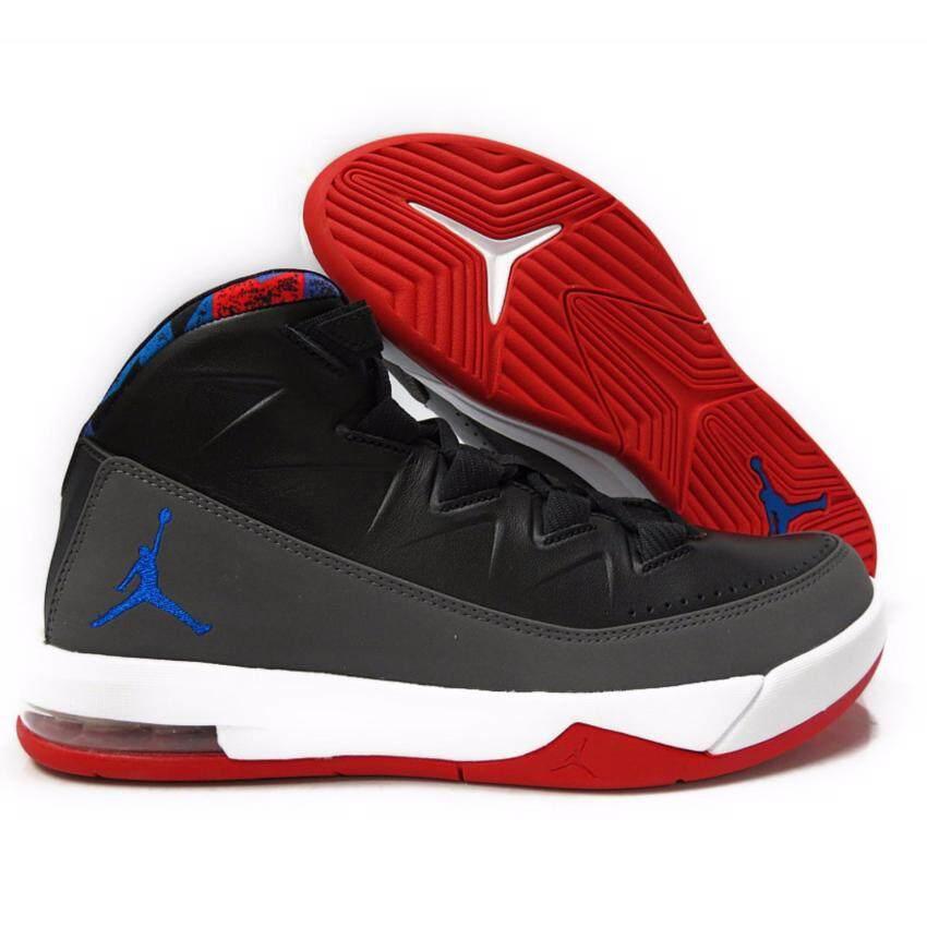 เช็คราคา Nike (โปรดเทียบไซด์รองเท้า ตามตาราง) รองเท้าฟิตเนส รองเท้าลำลอง รองเท้าวิ่ง รองเท้าเที่ยว รองเท้าบาส รองเท้าวอลเล่ รุ่น Jordan Deluxe