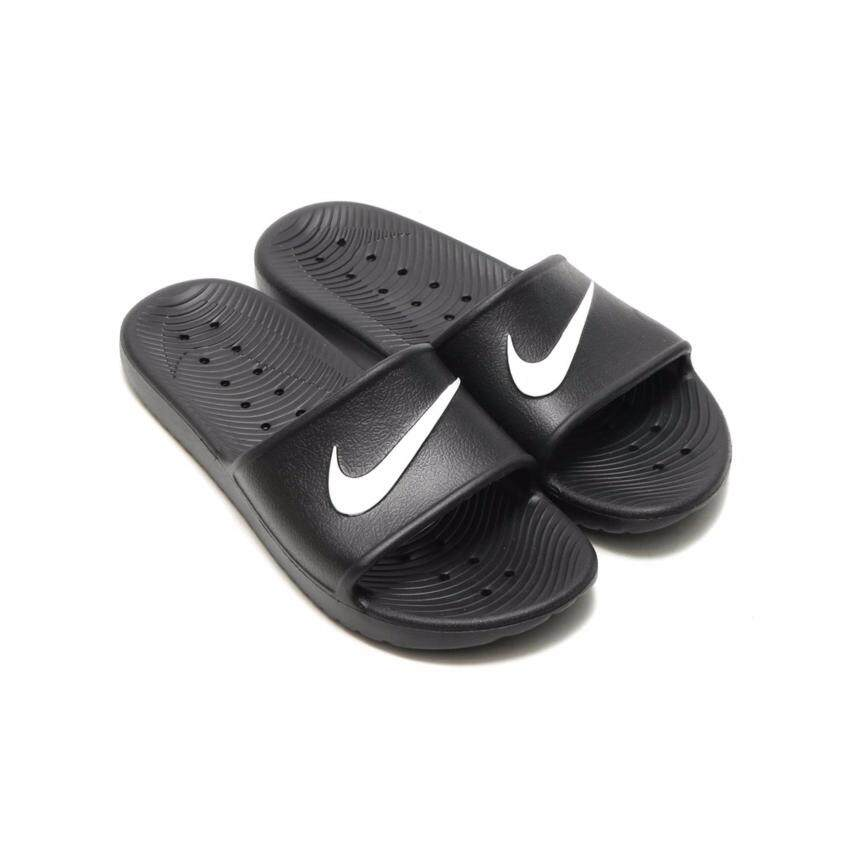 NIKE MEN รองเท้าแตะ ผู้ชาย รุ่น KAWA SHOWER  - 832528001 (BLACK/WHIT)