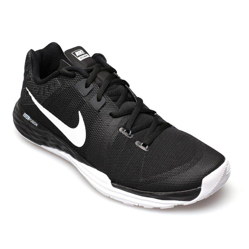 NIKE MEN รองเท้าผ้าใบ สีดำ ผู้ชาย รุ่น TRAIN PRIME IRON DF - 832219001 (BLACK/WHITE-ANTHRACITE-CL GREY)