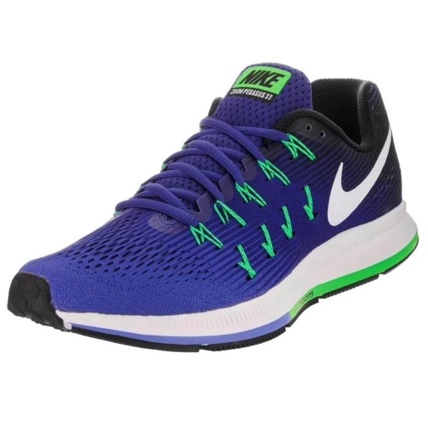 Nike รองเท้าวิ่งผู้ชาย Nike Air Zoom Pegasus 33 831352-404 (Medium Blue/White/Navy/Black)