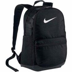 Nike กระเป๋าเป้ Nike Brasilia Medium Backpack 24L BA5329-010 (Black)