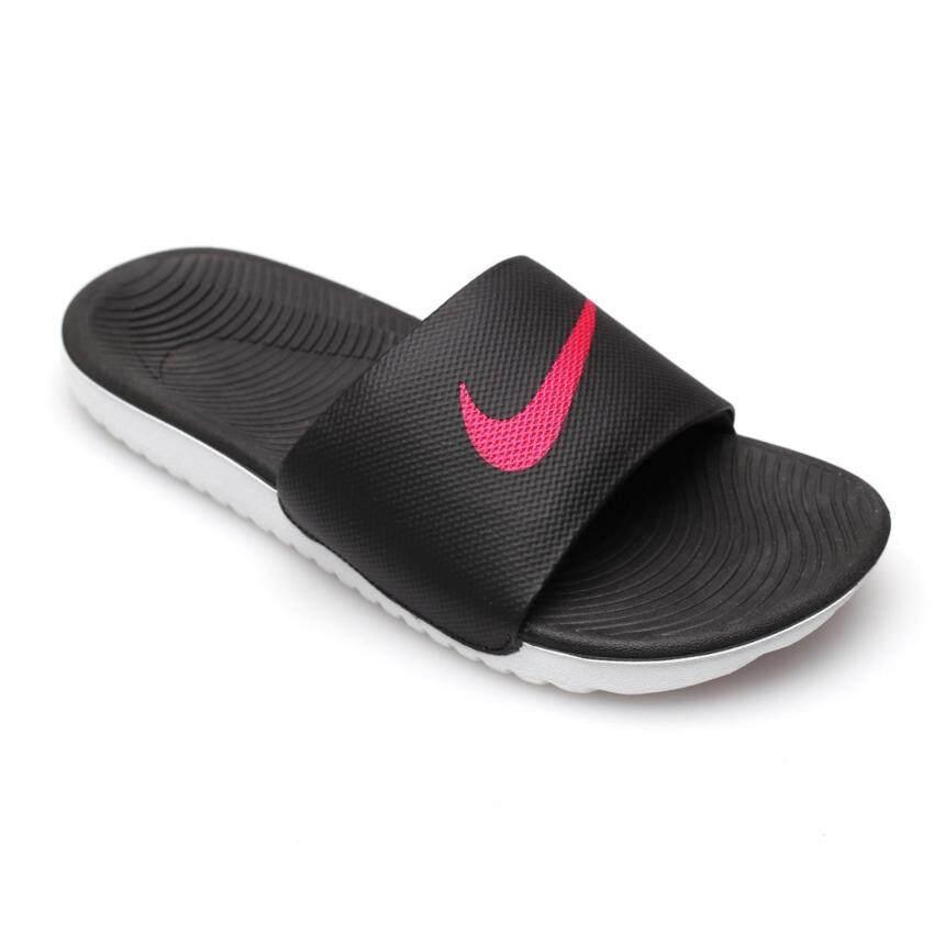 NIKE WOMEN รองเท้าแตะ ผู้หญิง รุ่น KAWA SLIDE - 834588060 (BLACK/VIVID PINK)