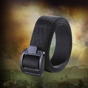 Harga Nylon Canvas Belt Black - intl