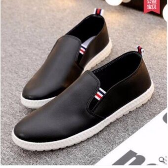 OJ Men's business casual shoes are used in English pu shoes - intl - 2