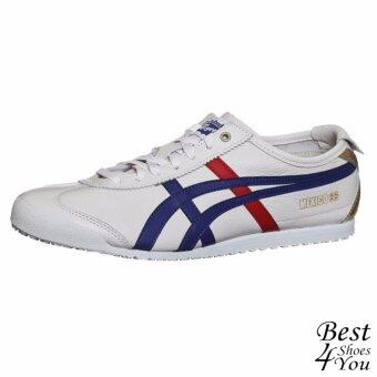 รองเท้าผู้ชาย Onitsuka Tiger Mexico 66 รุ่น Limited Edition X-Gold D507L-0152 (White/Dark Blue)