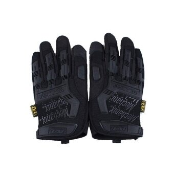 Outdoor Hiking Camping Safety Gloves Super Technician Full FingerTactical Cycling Riding Waterproof Skiing Glove - intl