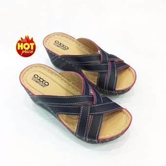 OXXO รองเท้าเพื่อสุขภาพรุ่น SM5161 สีดำ - 4