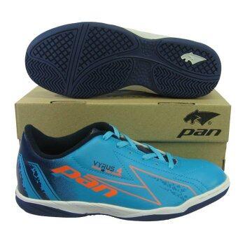 รองเท้ากีฬา รองเท้าฟุตซอล PAN 14K6 VYRUS 4 ฟ้าส้ม