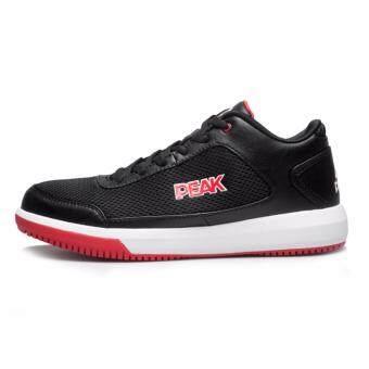 PEAK รองเท้า บาสเกตบอล Basketball shoes พีค รุ่น E42091A -Black/Red - 3