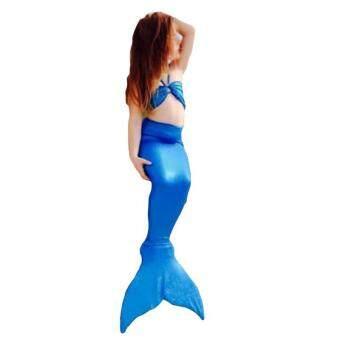ได้แก่ เฉียวใหม่เสื้อผ้าเด็กของเงือกสาวทำชุดว่ายน้ำ (สีน้ำเงิน)