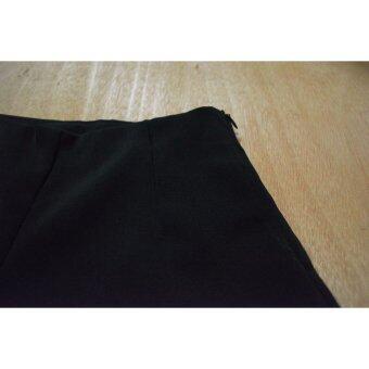 กางเกงขาสั้นฮานาโกะ(ดำ) - 3