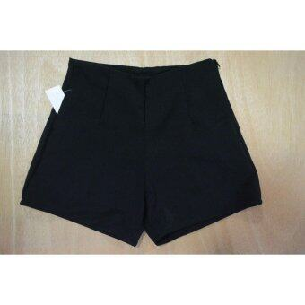 กางเกงขาสั้นฮานาโกะ(ดำ) - 2