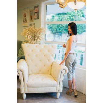 กางเกงแฟชั่น กางเกงขายาว กางเกงสี่ส่วน กางเกงสุภาพสตรี กางเกงลำลอง กางเกงผู้หญิง กางเกงไซต์ใหญ่ กางเกงคนอ้วน - 3