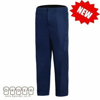 กางเกงคาร์โก้ กางเกงขายาวอย่างดี สีกรม กางเกงช่าง กางเกงทำงาน
