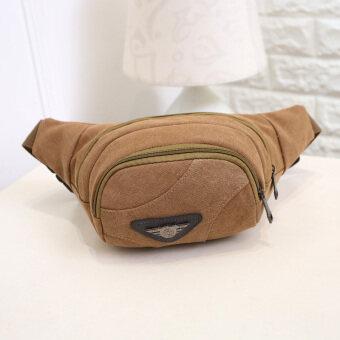 ใหม่สบายๆขนาดเล็กกระเป๋ากระเป๋าผู้ชายกระเป๋ากระเป๋ากระเป๋า (สีกากี)