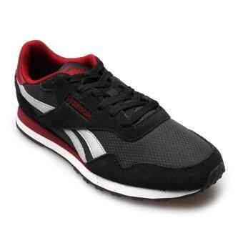 ราคา REEBOK MEN รองเท้าผ้าใบ ผู้ชาย รุ่น ROYAL ULTRA 0317 - 32-BD5616 (BLACK/GREY/COLL BUR/WHITE)