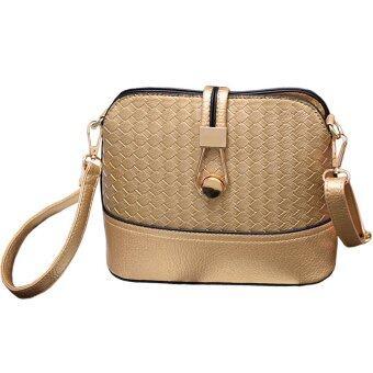ขอเสนอ Women Bag กระเป๋าสะพายพาดลำตัว Cross-Body Bag 0016 (ทอง)