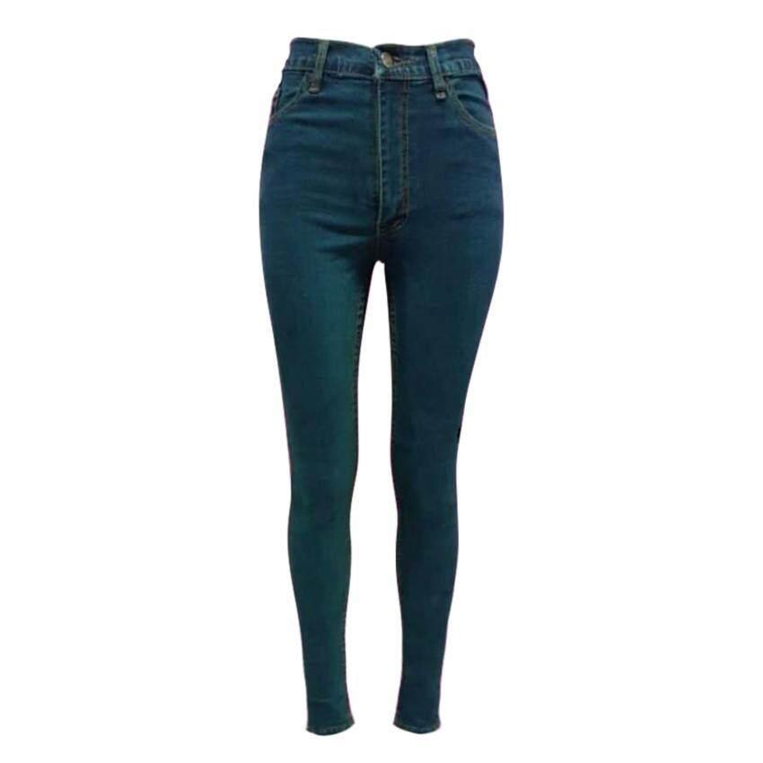 RockyJeans กางเกงยีนส์สกินนี่แบบซิป No.JW17105