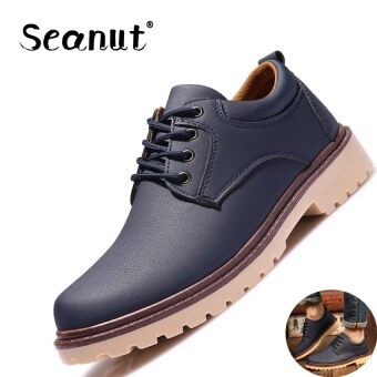 Seanut Men's Tooling Shoes Casual Shoes (Blue)