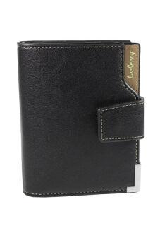 กระเป๋า สตางค์ ธนบัตร หนัง ผู้ชายMen's WalletBaellerryรุ่น 000240- Black