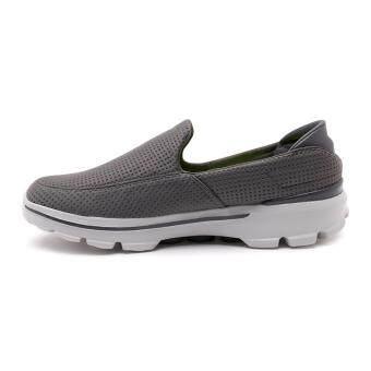 SKECHERS MEN รองเท้าผ้าใบ ผู้ชาย รุ่น GO WALK 3 - 54045GRY (GREY) - 3