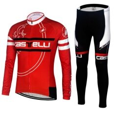 Spring Autumn MTB Bicycle cycling Suits Bike Jersey - intl