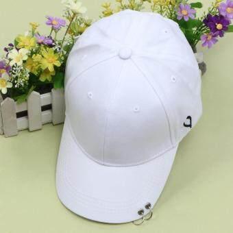 แหวนแฟชั่นฮิปฮอปสวมหมวกเบสบอล Strapback Snapback ฝาโค้ง