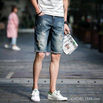 Harga Summer New Men's Jeans and Shorts - intl