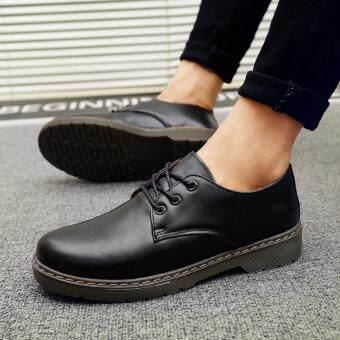 ชายอย่างเป็นทางการรองเท้าใช้ suturei รองเท้าหนังนิ่ม (สีดำ)