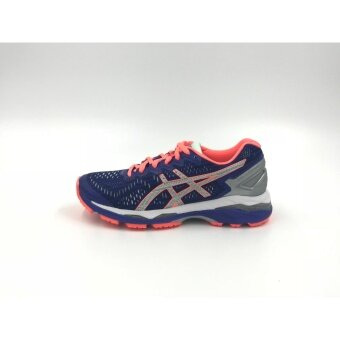 T6A6N.4593-GEL-KAYANO 23 LITE-SHOW-ASICS BLUE/SILVER/FLASH CORAL-F