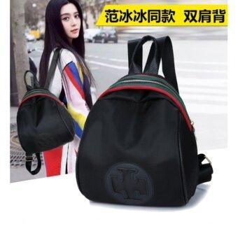 TB FASHION กระเป๋าเป้สะพายหลัง กระเป๋าสะพายหลังผู้หญิง backpack women (black)