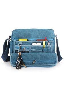 Tokyo Boy กระเป๋าสะพายข้างผู้ชาย ผ้า CANVAS รุ่น NB700 (สีฟ้า)