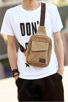 เปรียบเทียบราคา Tokyo Boy กระเป๋าสะพายไหล่ รุ่น NG421 ( สีน้ำตาลอ่อน )