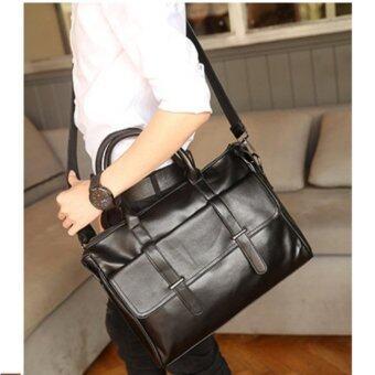 Tokyo Boy กระเป๋าถือผู้ชาย/ กระเป๋าสะพายข้าง ใส่ NOTE BOOK รุ่น\nNE545 - สีดำ