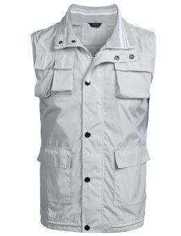 Toprank Men Casual Sleeveless Full-zip Sports Vest Jacket - intl
