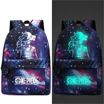 Travel Glow in the Dark Night Light School Bag Starry Sky LuminousBackpack(Star Anime) - intl