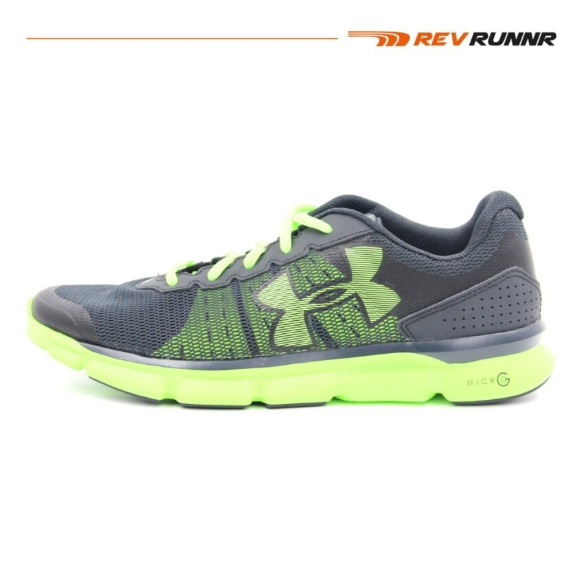 UA MICRO G SPEED SWIFT-ANTHRACITE / / FUEL GREEN